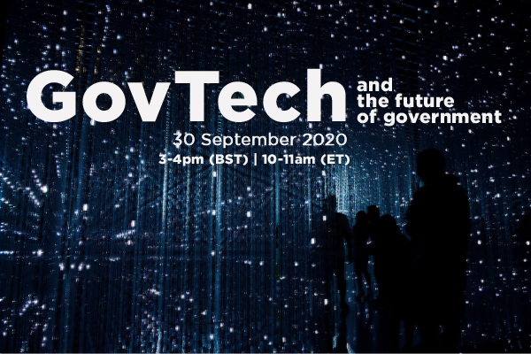 GovTech and the future of government