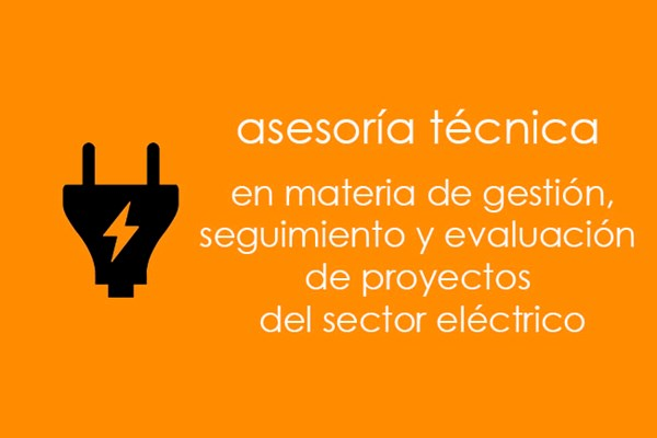 Technical assistance regarding management, follow-up, and evaluation of core projects in the electric sector