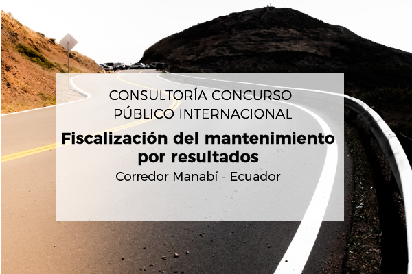 International Public Tender: Consultancy for Result-based Maintenance Monitoring for Road E386