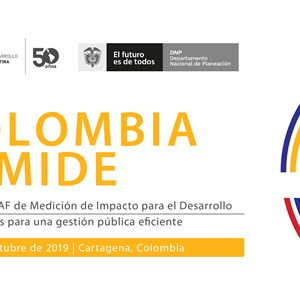 Colombia to host next CAF Seminar on Impact Measurement for Development