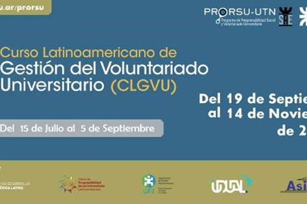 Latin American Course on Management of University Voluntary Service