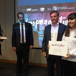 "CAF Rewards Winners of ""Ideas for the Future"" Essay Competition in Argentina"