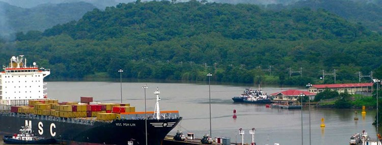 Environment, trade, agriculture, and logistics, CAF's contributions to the Panama Canal