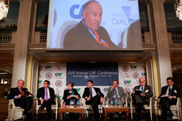 The 17th Annual CAF Conference Opens with an  Appeal for Unity in Latin America