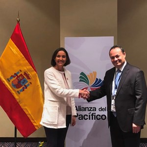 Spain and CAF strengthen their relationship to boost sustainable development and integration of Ibero-America