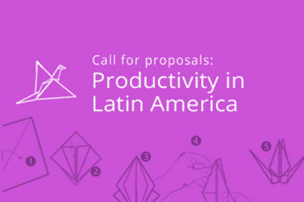 Call for Proposals: Productivity in Latin America