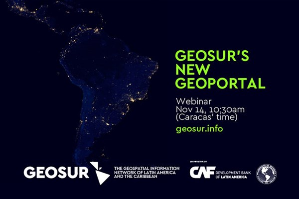 Training Webinar: GEOSUR's New Geoportal