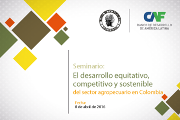 Seminar: Equitable, competitive, and sustainable development